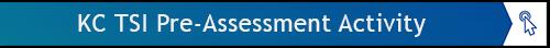 KC TSI Pre-Assessment Activity