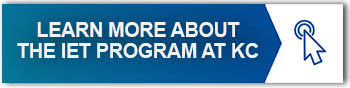 LEARN MORE ABOUT THE IET PROGRAM AT KC