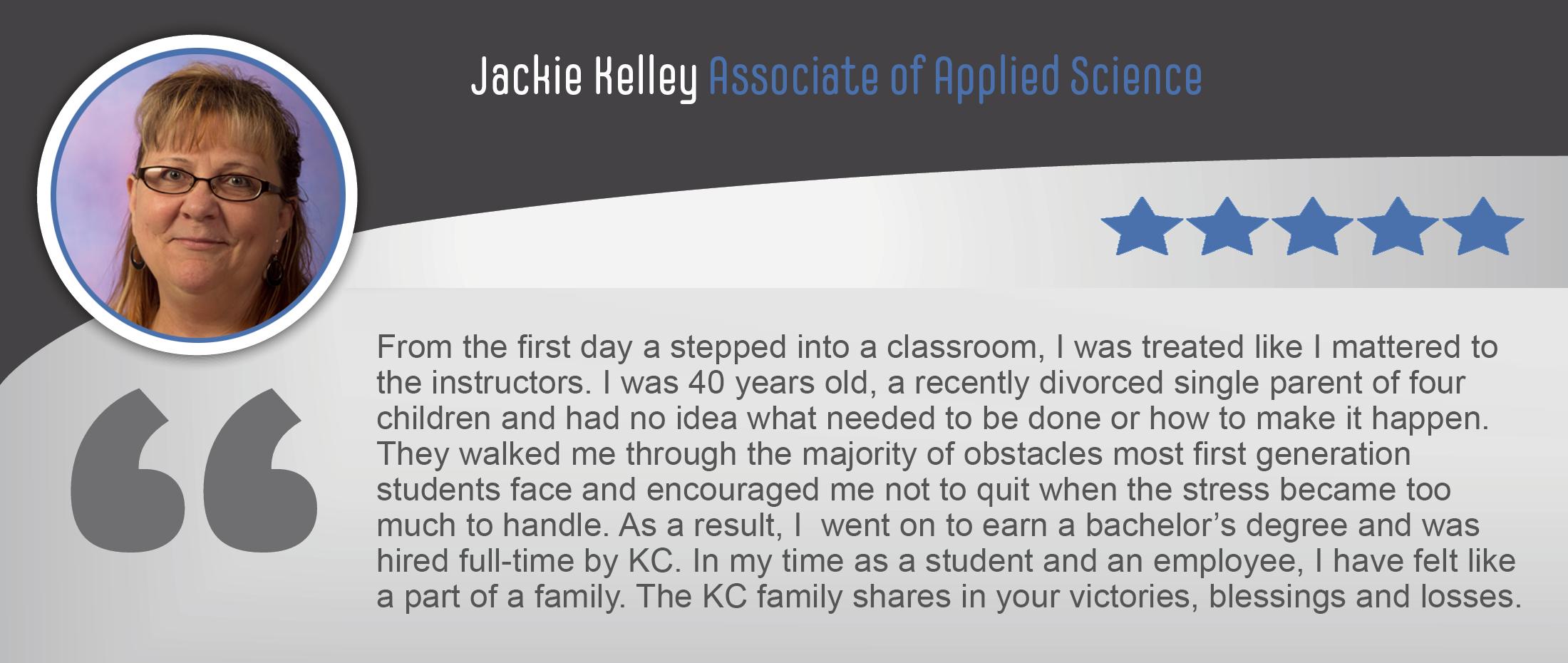 Jackie Kelley Testimonial