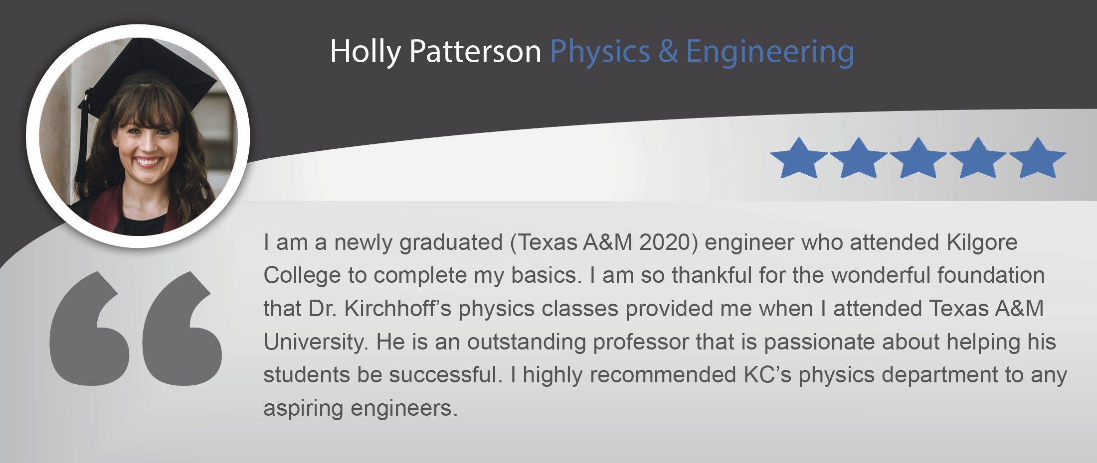 Holly Patterson testimonial