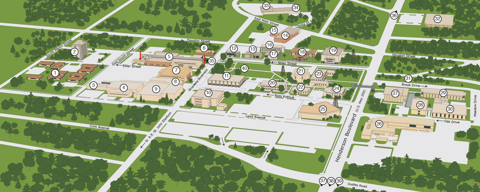 Kilogre Collage campus map
