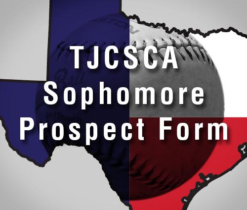 TJCSCA Sophomore Prospect Form