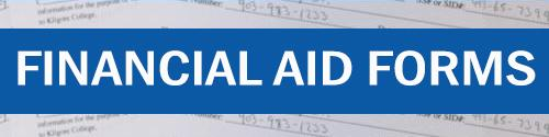 financial aid forms web button