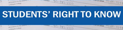 Financial Aid Students' Right to Know ad
