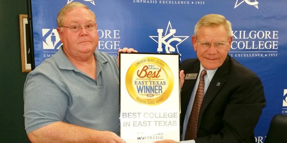 Longview News Journal Best Of East Texas 2019 KC named Best College in East Texas by Longview News Journal