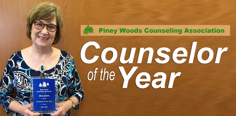 Gatton named Counselor of the Year by Piney Woods Counseling Association