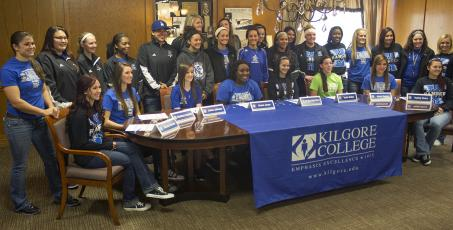 Kilgore College signs 10 players for fall 2014